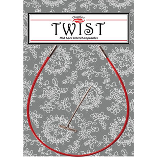 Twist Red Lace Interchangeable Cable