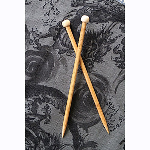 View larger image of Bamboo 9 Inch Single Point Needles