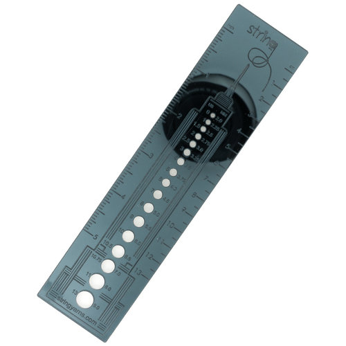 """View larger image of Empire State Building 5"""" Needle Gauge Ruler"""