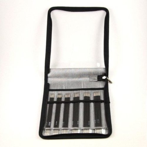 """View larger image of Karbonz 6"""" Double Pointed Needle Set"""