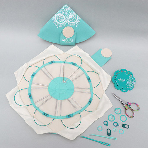 View larger image of Mindful Collection Lace Fixed Circular Needle Set - Explore