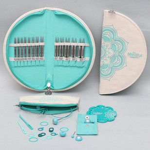 Mindful Collection Lace Interchangeable Needle Set - Warmth
