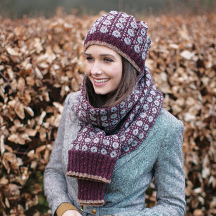 Wilkie Hat and Scarf PDF