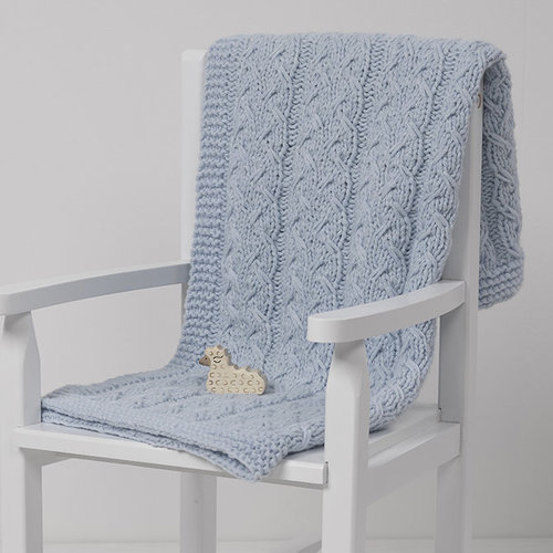 View larger image of Baby Sprout Blanket PDF