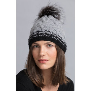 Carey Cabled Hat Kit
