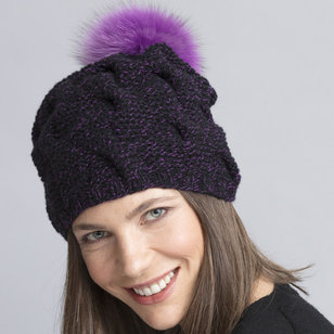 Drew Cabled Hat & Cowl PDF