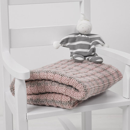 View larger image of Slipped Stitch Baby Blanket PDF