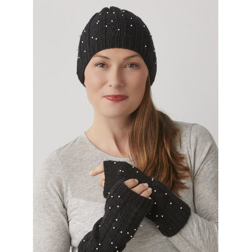 View larger image of Starry Night Hat & Mitts PDF