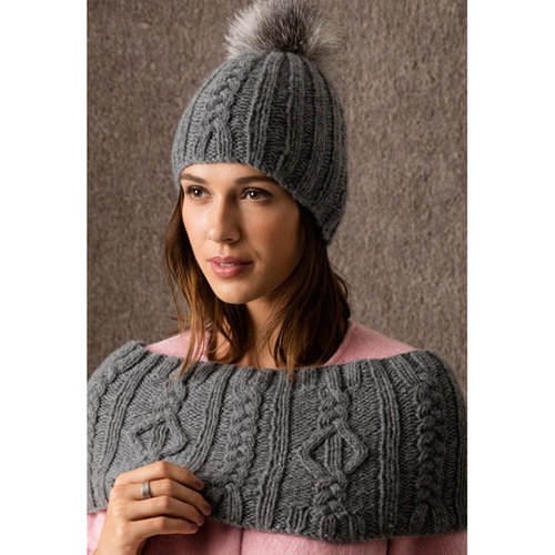 View larger image of Sun Valley Hat & Capelet/Cowl PDF