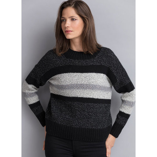 View larger image of Veronica Stripe & Sequin Pullover PDF