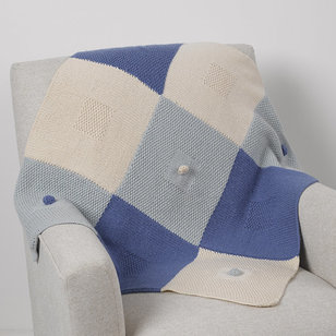 X's and O's Baby Blanket PDF